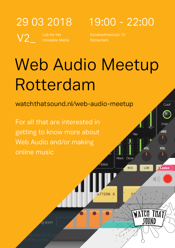 Watch That Sound Web Audio Meetup
